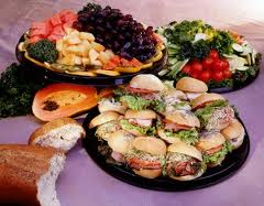 image of corporate catering sandwiches